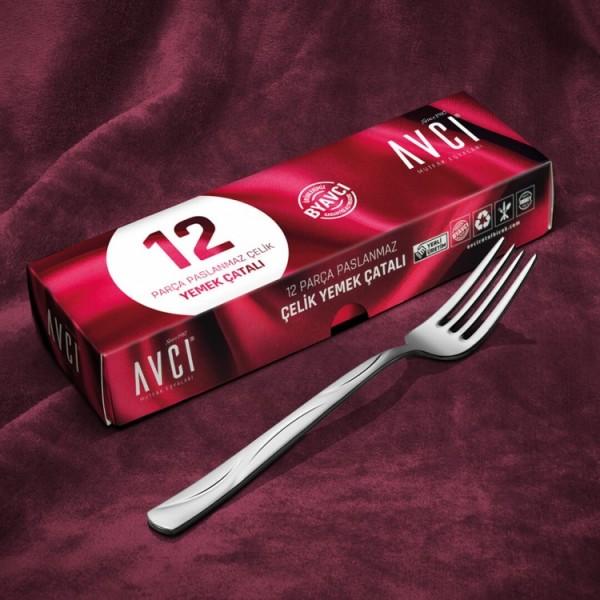 Moonlight 12 Piece Dinner Fork